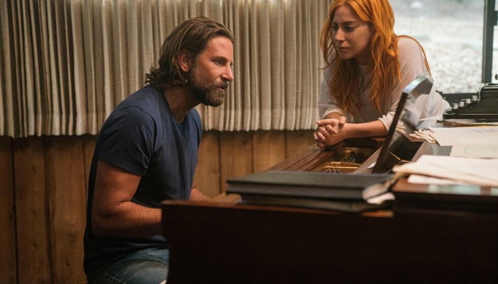 GODE VENNER: Lady Gaga og Bradley Cooper hadde en helt spesiell kjemi under filmopptak, og er blitt nære venner etter innspillingen. FOTO: NTB Scanpix