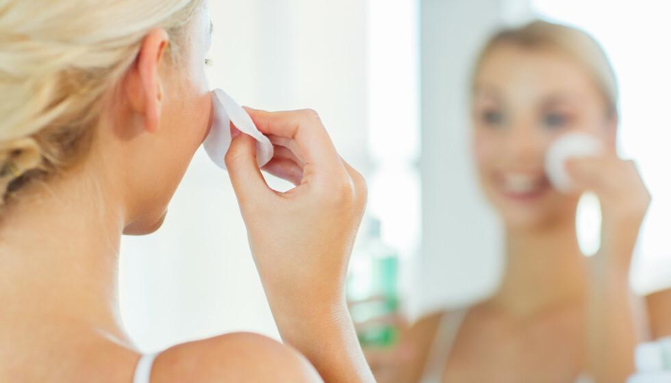 TONER: Eplecidereddik brukes blant annet i hjemmelaget ansiktspleie, men her kan det være viktig å være forsiktig. FOTO: NTB Scanpix