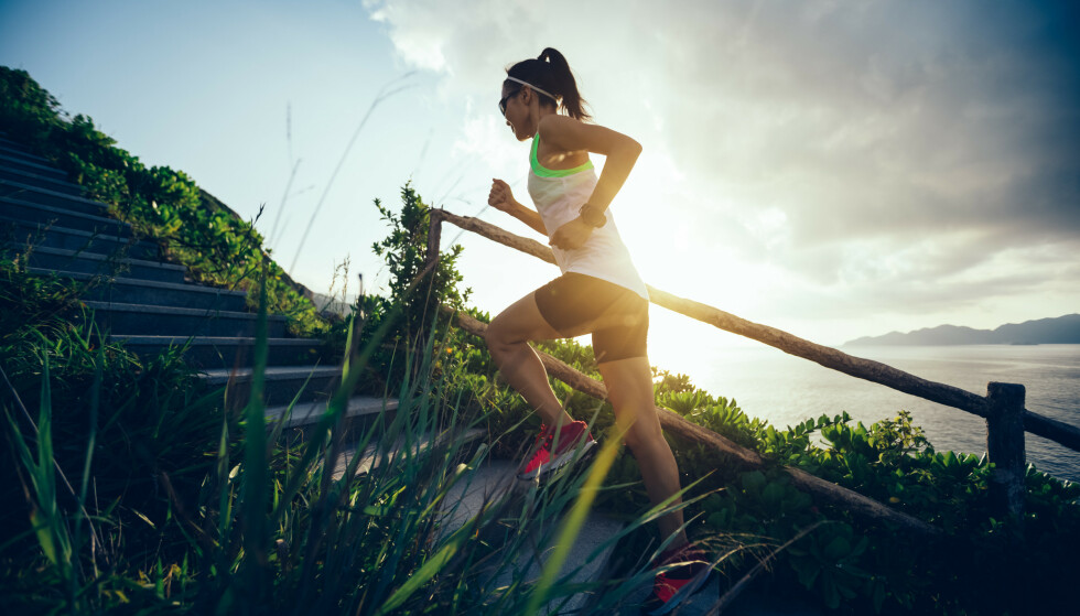 TRENING: Noen kan oppleve at plagene før menstruasjonen letter litt med trening. FOTO: NTB Scanpix