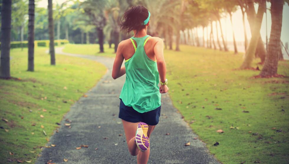 TRENING: Kondisjonstrening har effekt både for den som allerede er godt trent og den som ikke er det. FOTO: NTB Scanpix