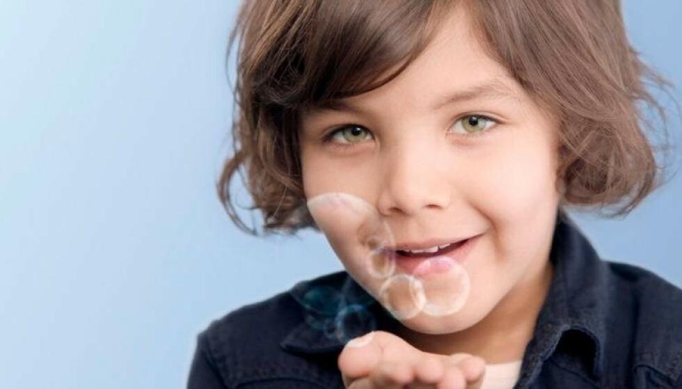 PASS PÅ: Barns tenner er ekstra viktig å ta vare på, med tannpuss morgen og kveld.