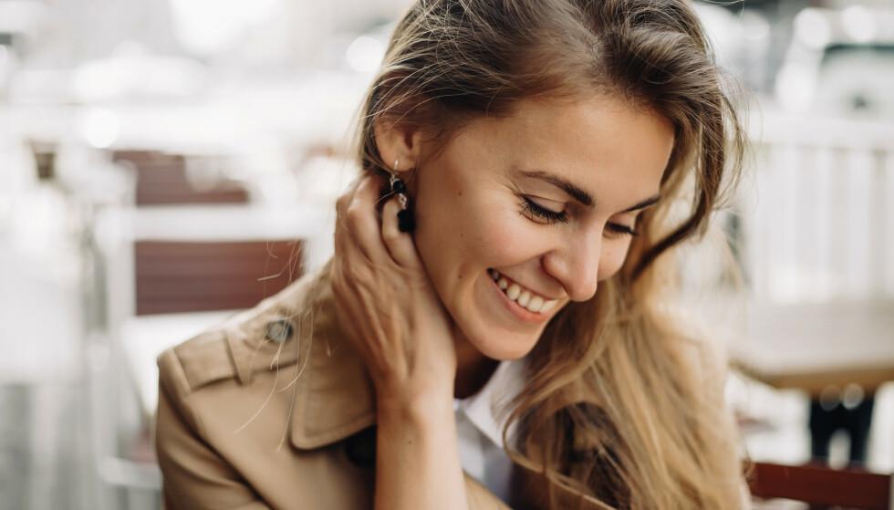 LYKKELIG: Det er mange faktorer som påvirker lykkefølelse og hvordan vi har det med oss selv. FOTO: NTB Scanpix