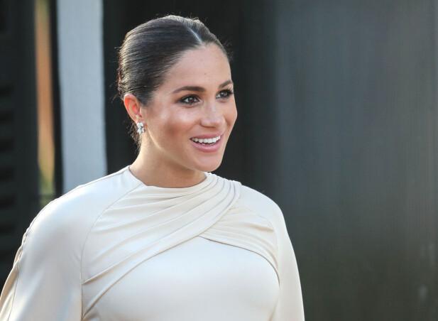 NÅ: En del år senere, ser Meghan – hertuginne av Sussex – slik ut. Like vakker nå som da! FOTO: Scanpix