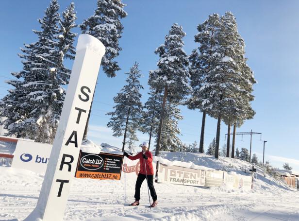 NÆRMILJØET: I vinterhalvåret trener Liv Astri Løkken flere ganger i uken ved Raufoss skistadion FOTO: Malini Gaare Bjørnstad // KK