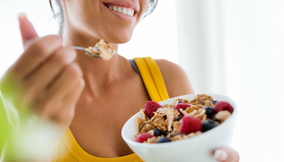 VIKTIG: Det er essensielt for både ytelse og restitusjon at man får i seg mat i forbindelse med trening – vi har funnet ut både når og hvor mye. FOTO: Scanpix