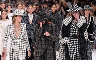 Tårevåt affære under Chanel-visning