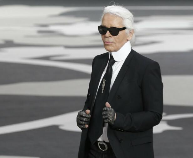 KARL LAGERFELD: Designeren gikk bort i en alder av 86 år. Foto: Scanpix