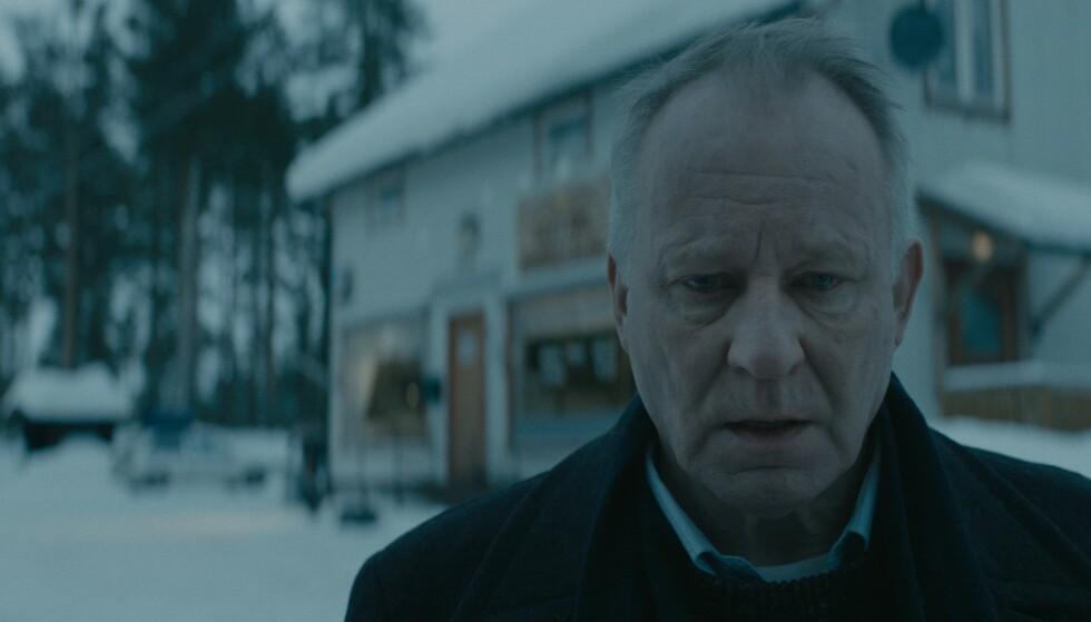 ENSOM: Trond, spilt av Stellan Skarsgård, har bestemt seg for å bli gammel alene. FOTO: 4 1/2 og Nordisk film