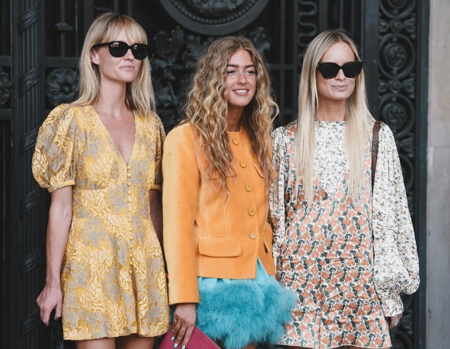 VÅRMOTE: Vi har funnet noen fantastiske, fargerike kjoler til deg. Foto: Scanpix