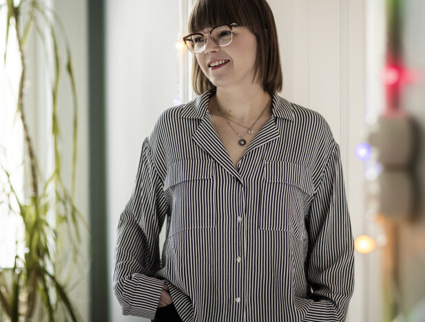 <strong>ÅPENHET:</strong> Cecilie Kåss Furuseth angrer ikke på at hun i sitt nye program er åpen om sin diagnose. FOTO: Astrid Waller