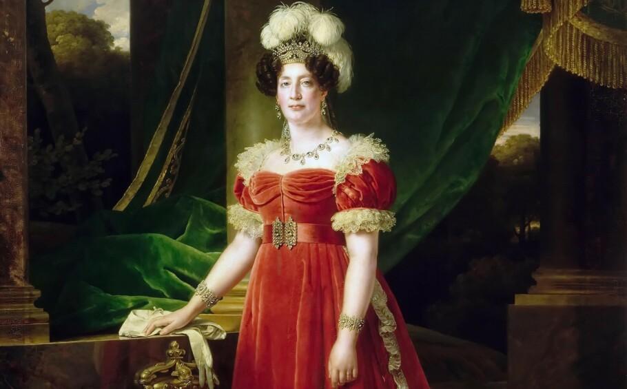 ENSOM MAJESTET: Marie Therese Charlotte var eneste overlevende barn til kong Ludvig 16. og dronning Marie Antoinette etter den franske revolusjonen. Mens hun selv satt i fangenskap ble faren, moren og tanten giljotinert, og lillebroren døde i fangenskap. FOTO: NTB Scanpix