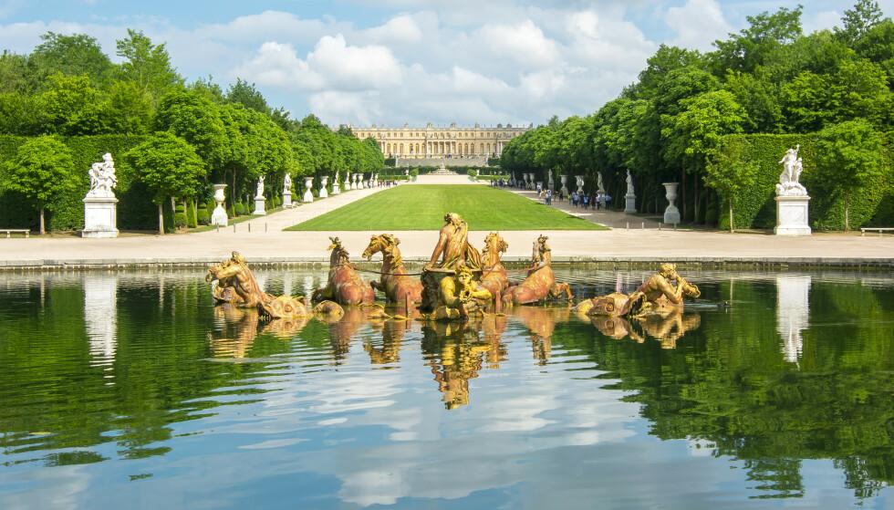BARNDOMMENS GRØNNE DAL: Marie Therese trådte sine barnesko på slottet Versailles utenfor Paris. En stund så det ut som hun skulle bli dronning, som sin mor. FOTO: NTB Scanpix