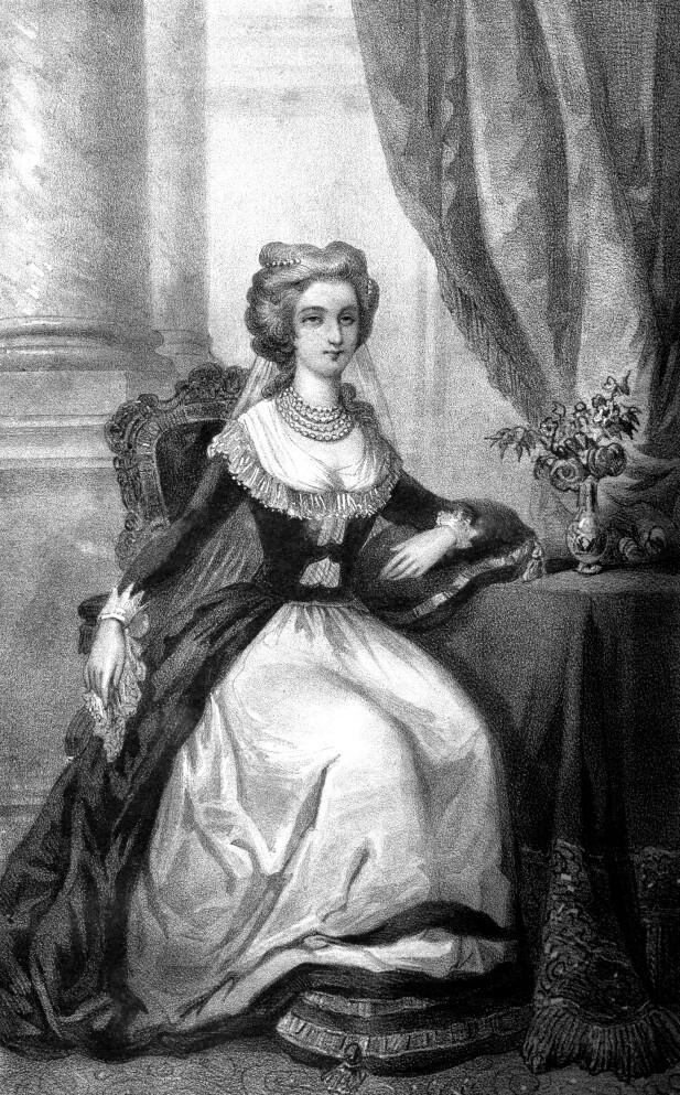 MINNET OM MOR: Marie Antoinette. Kanskje var det slik datteren Marie Therese husket henne, hyllet i et glemselens slør. FOTO: NTB Scanpix