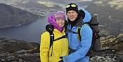 To uker etter at Elise og Gjermund ble foreldre, tok han sitt eget liv