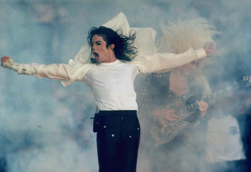 RYSTENDE BESKYLDNINGER: Dokumentaren «Leaving Neverland» har sendt sjokkbølger gjennom verden – men det er hele 26 år siden Michael Jackson ble anklaget for overgrep for første gang. FOTO: NTB Scanpix