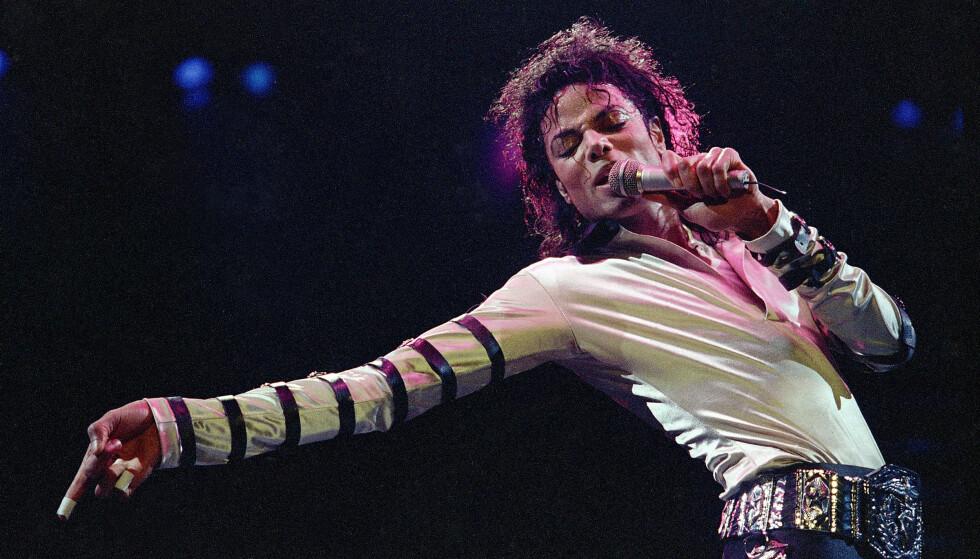 REKORD: Fire tiår etter utgivelsen er Michael Jacksons «Thriller» fortsatt verdens mestselgende album. FOTO: Scanpix