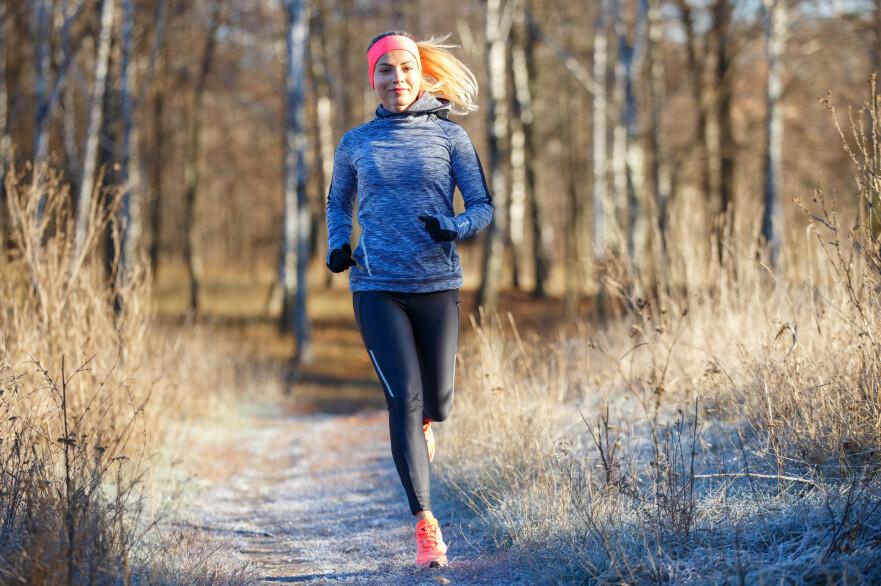 LØPETRENING: Hva er det egentlig som er mest effektivt: å løpe ute eller på mølla? FOTO: NTB Scanpix