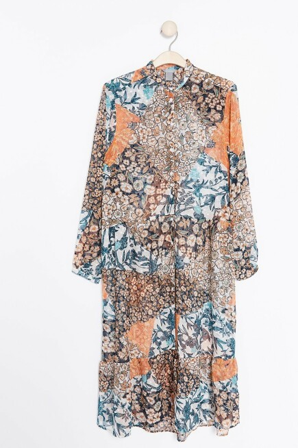 Skjortekjole | Lindex | https://www.lindex.com/no/dame/overdeler/kjoler/7856872/Moenstret-skjortekjole/?utm_source=aller&utm_medium=native&utm_campaign=1903_woman&utm_content=smart_wardrobe