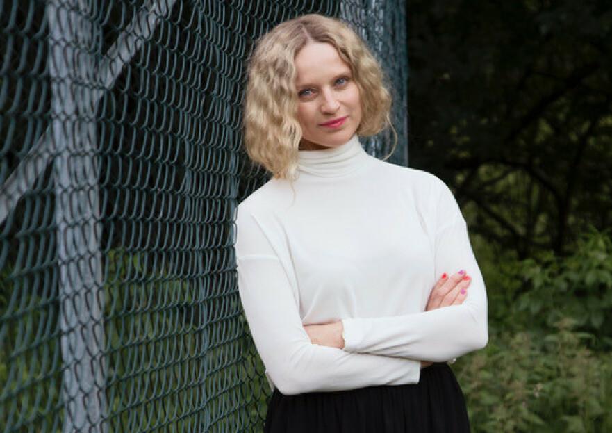 SIV ELISE SELAND: iiS Woodling-designeren angrer ikke på valget hun tok i Milano. Foto: Julie Pike