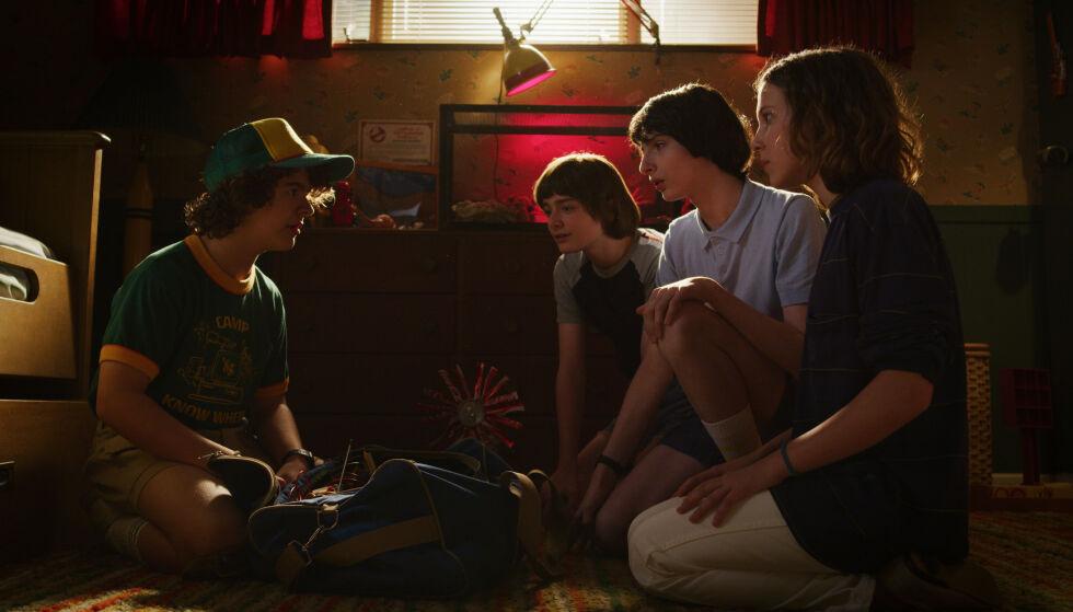TILBAKE: Denne gjengen er omsider tilbake på Netflix i juli – og nå er den første traileren sluppet. FOTO: Netflix