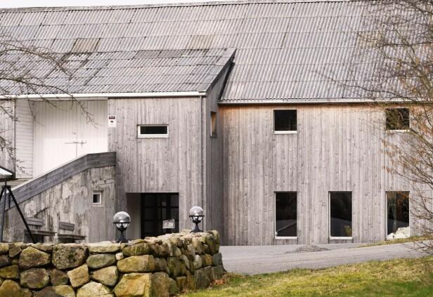 Gården til familien Seland. Foto: Privat