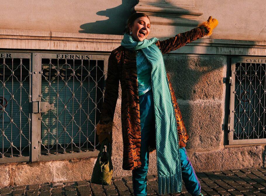 MAREN SCHIA: Den norske moteprofilen deler sine beste stiltips. Foto: Privat