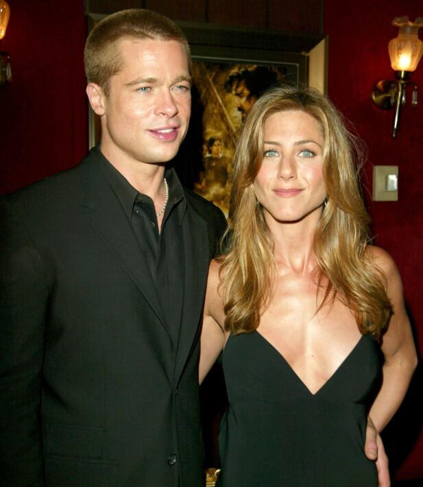 RYKTEFLOM: Mange mener at Brad Pitt fant lykken litt for tidlig med Angelina Jolie etter bruddet med Jennifer Aniston – var han utro? FOTO: Scanpix