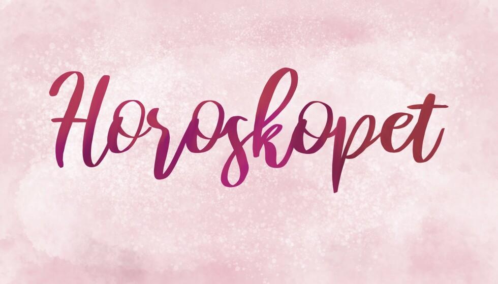 HOROSKOP: Horoskopet gjelder for uke 14. ILLUSTRASJON: Kine Yvonne Kjær