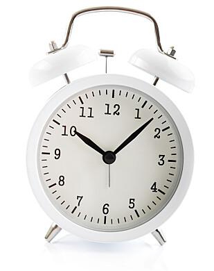 TIKK TAKK: Husker du den gang tikkingen fra vekkerklokka ble assosiert med søvn? FOTO: NTBScanpix5
