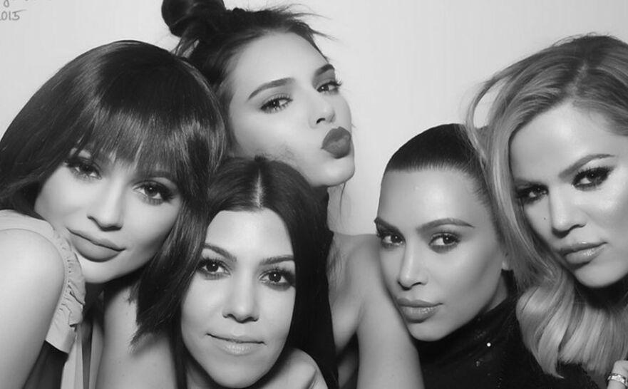 VERDENSKJENTE: Det er ingen tvil om at dette er den mest berømte søskenflokken i Hollywood. Se hvordan Kardashian/Jenner-gjengen ville sett ut som én person! FOTO: Instagram