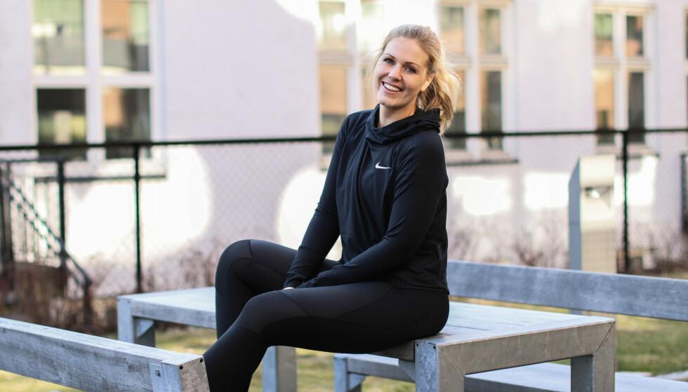 KROPPSANALYSE: Journalist Ida Bergersen tok to forskjellige kroppsanalyser. Resultatet fra testene var ikke som forventet, og de stemte heller ikke overens. FOTO: Thea Bergersen