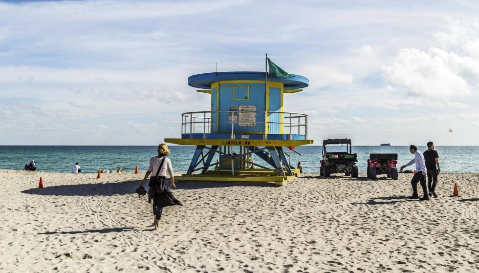 REISE TIL MIAMI: Man blir glad av arkitekturen i Miami Beach. FOTO: Mikkel Bækgaard