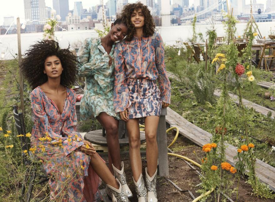 UKENS MOTENYHETER: Visste du at den nyeste kolleksjonen til H&M blant annet er laget av ananasblader? Foto: H&M