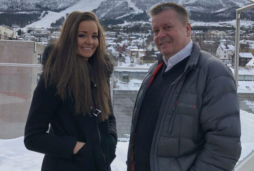 FAR OG DATTER: Marlene og Trond Føre Frantzen. Far og datter har lært å sette pris på livet etter den dramatiske kapringen for 15 år siden. FOTO: Privat