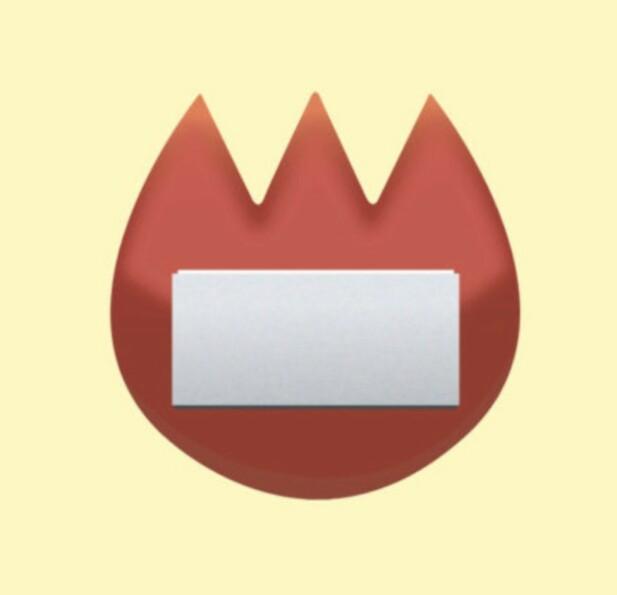NAVNESKILT: Ikke noe flammer her – dette skal forestille et navneskilt. FOTO: Unicode