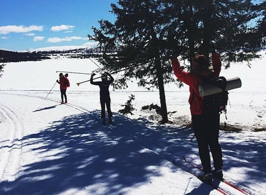 PÅSKEFERIE: Påske på fjellet blir i år byttet ut med Mallorca-tur for KKs journalist Malin Gaden, og med det skylte et heftig luksusproblem over henne. FOTO: Privat