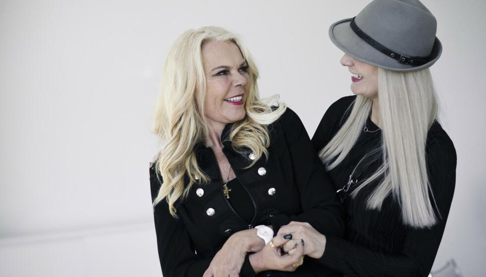 ULIKE MEN LIKE. Inger Ellen Nicolaisen og datteren Christinah mener de utfyller hverandre godt. FOTO: Astrid Waller