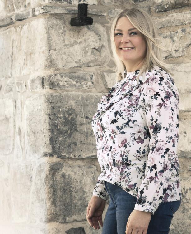 UTEN TILBAKEFALL: Anna Kristina sier at om man kommer seg gjennom det første året etter endt behandling uten tilbakefall, er det ganske stor sannsynlighet for at det ikke kommer tilbake. FOTO: Astrid Waller