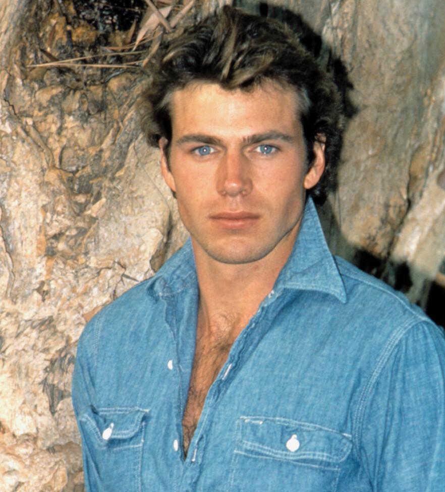 STJERNEN SOM ALDRI SLUKNET: Norskættede Jon-Erik Hexum ble regnet som The next big thing i Hollywood. I 1984 døde han under lek med en Magnum 44 ladet med tomhylse. FOTO: NTBScanpix