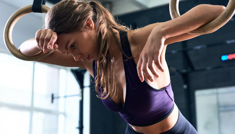 SER IKKE RESULTATER: Det kan være flere årsaker til at du ikke ser resultater av trening din. Kanskje kroppen rett og slett trenger en pause? FOTO: NTB Scanpix