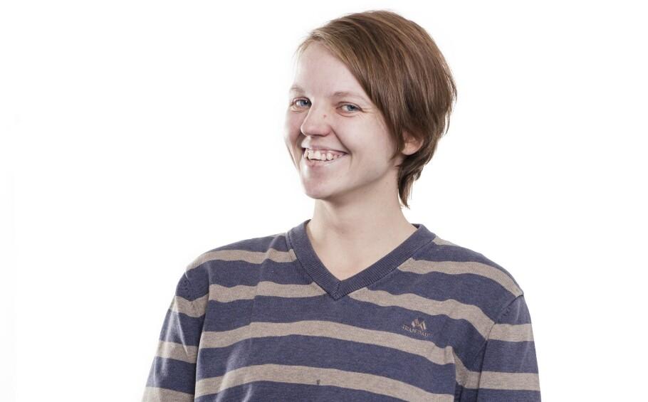 BLI NY: Slik så Anette ut før hun ble ny med KK. FOTO: Astrid Waller