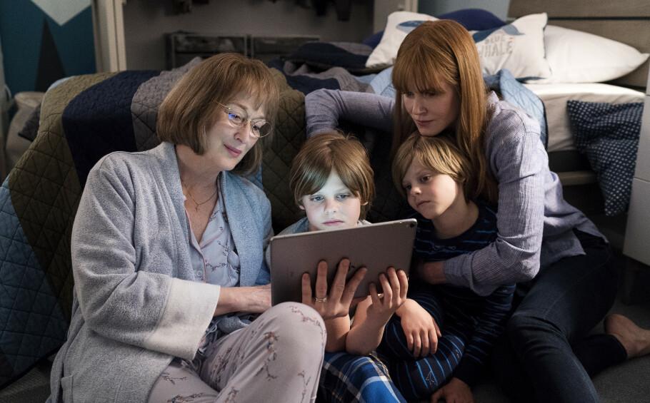 MERYL STREEP: Hvem gleder seg vel ikke litt ekstra mye til at selveste Meryl Streep blir en del av stjernerekka i den nye sesongen? FOTO: HBO