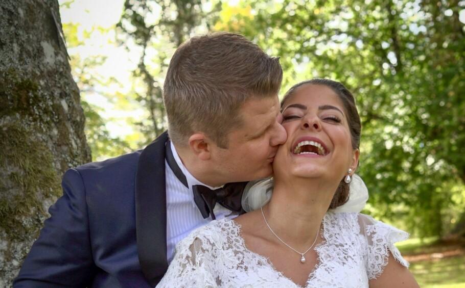 <strong>GIFT VED FØRSTE BLIKK:</strong> Joakim Aleksander Mäkiperä (39) og Sara Jansson Ishqair (29) er fortsatt gift, og har allerede kjøpt seg leilighet på Grünerløkka sammen. FOTO: TVNorge