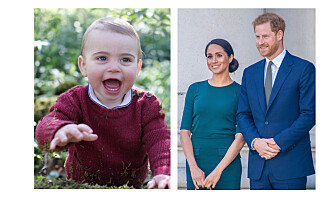 Sjekk Meghan og Harrys søte bursdagshilsen til nevøen prins Louis (1)
