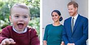 Sjekk Meghan og Harrys søte bursdagshilsen til nevøen