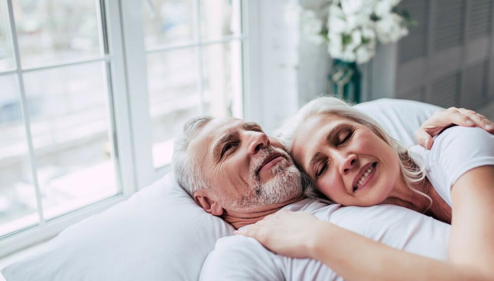 SEKSUALITET: Når man blir litt eldre vil ikke nybegynnerusikkerheten hengende over deg, og du kan derfor leve ut seksualiteten din på en helt annen måte. FOTO: NTB Scanpix
