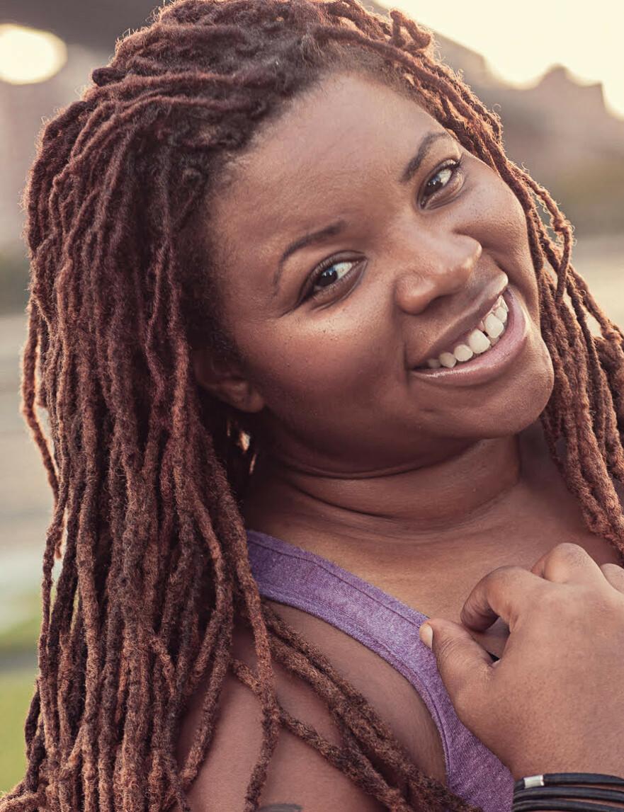 FAT SHAMING: Latoya Shauntay Snell har opplevd mye fat shaming - til og med mens hun løp New York maraton. Derfor vil hun fremme kroppspositivisme. PRESSEBILDE