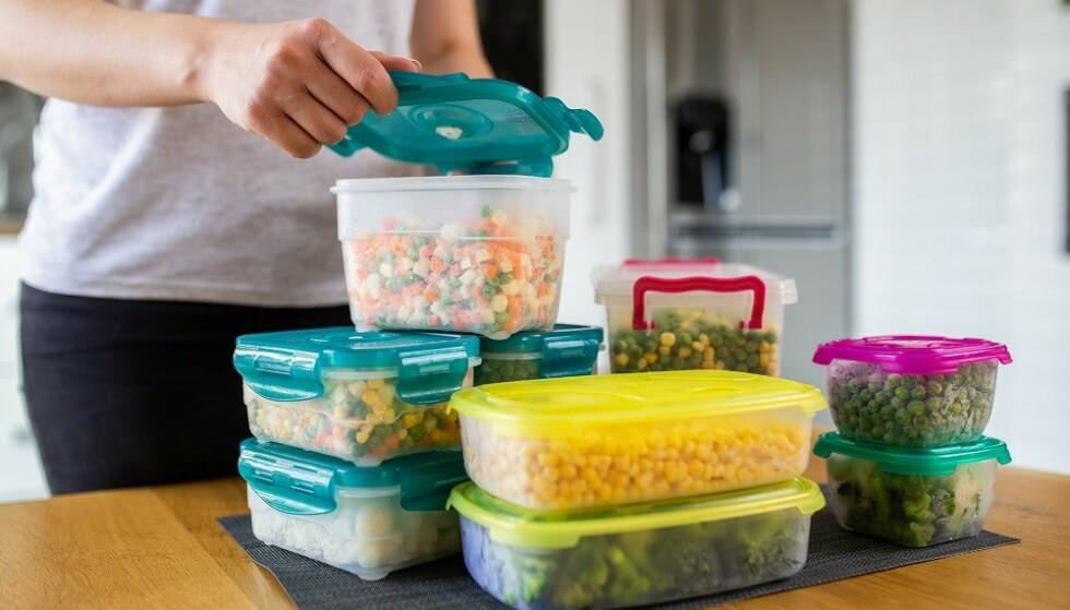 OPPBEVARING: Det varierer hvor lenge du kan oppbevare mat i fryseren. FOTO: Scanpix