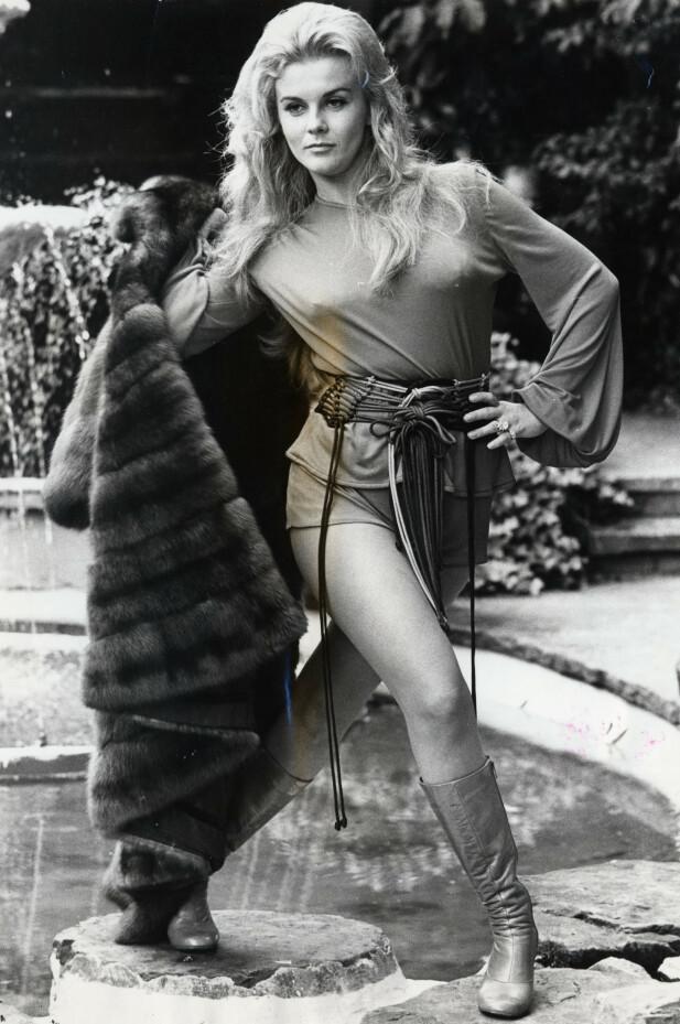 SUPER SVENSKE: Bo Dereks mor var makeupartist for den svenske superstjerna Ann-Margret. FOTO: NTBScanpix