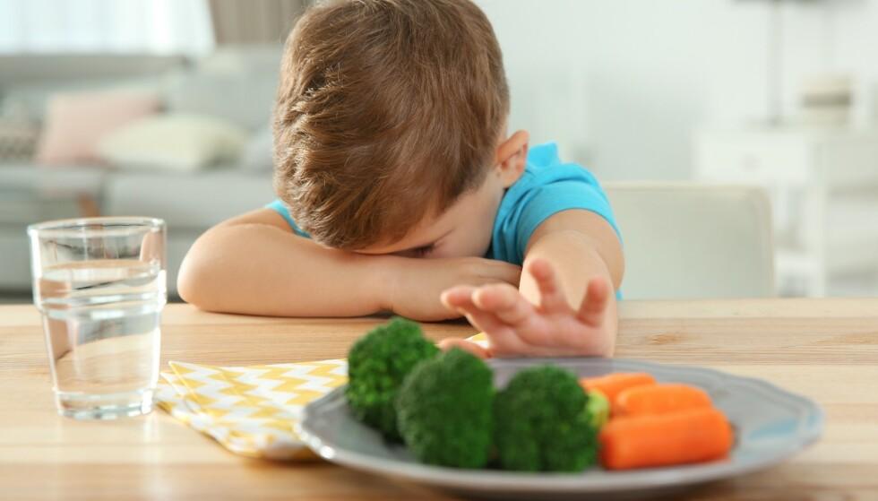 KRESEN MAMMA: Kan barn bli påvirket av foreldrenes kresenhet? Ja, mener ernæringsfysiolog. FOTO: NTB Scanpix